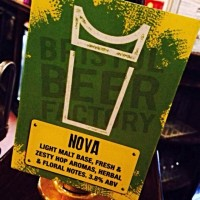 Bristol Beer Factory - Nova