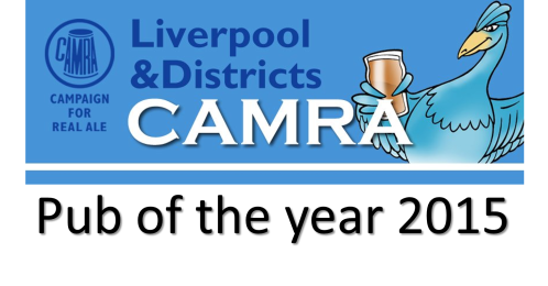 Liverpool and District CAMRA Pub of year 2015